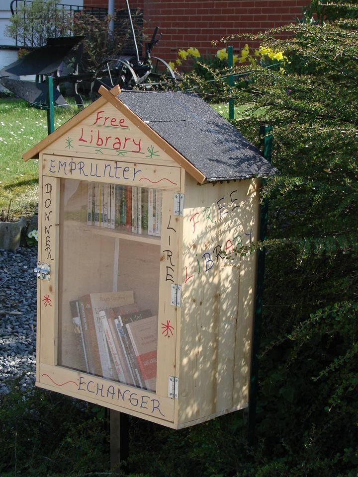 Boîte à livres Saint-Symphorien