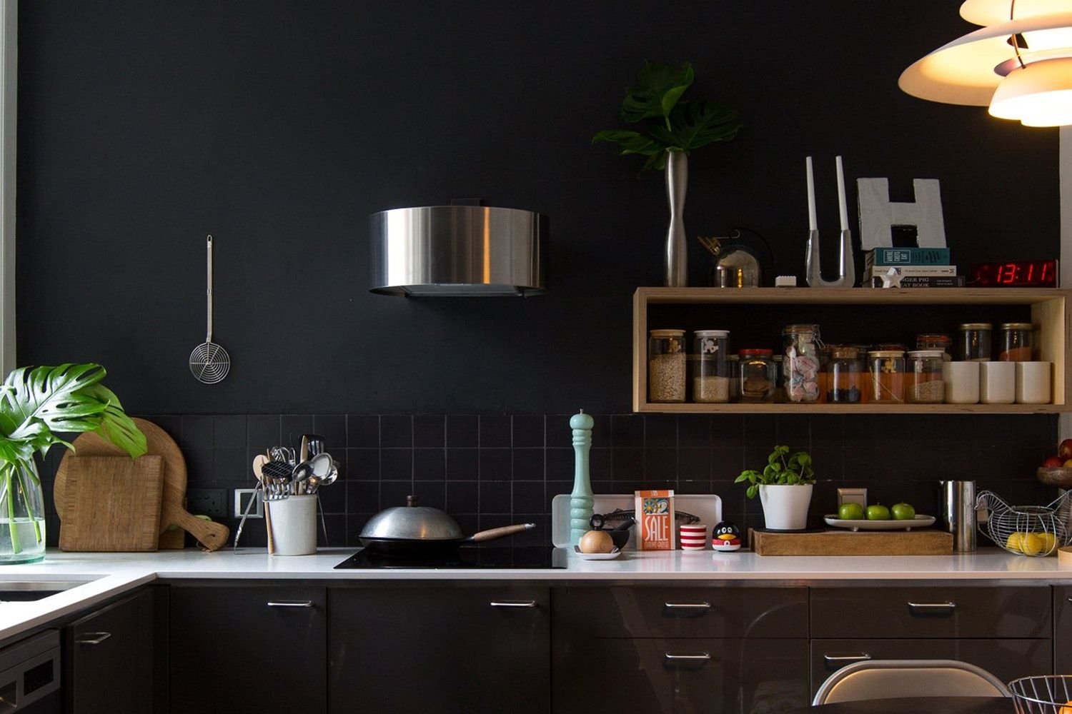The Best Black Paint Colors for Your Kitchen Cabinets ...