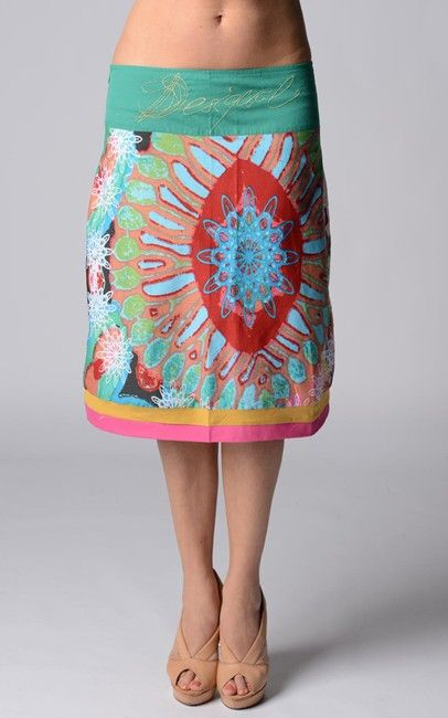 ffab674b894 A line skirt from Desigual