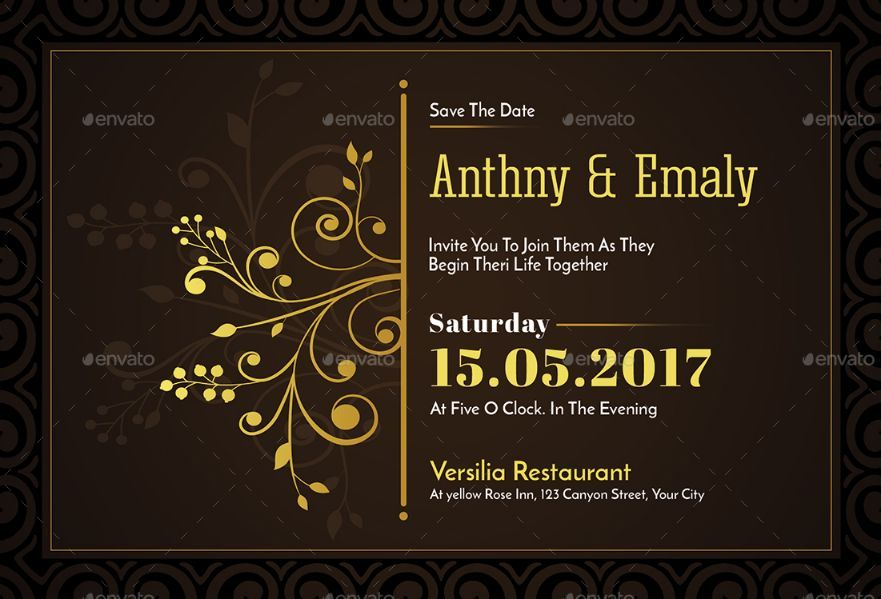 20 Engagement Invitation Template Word InDesign and PSD Format – Format of Engagement Invitation