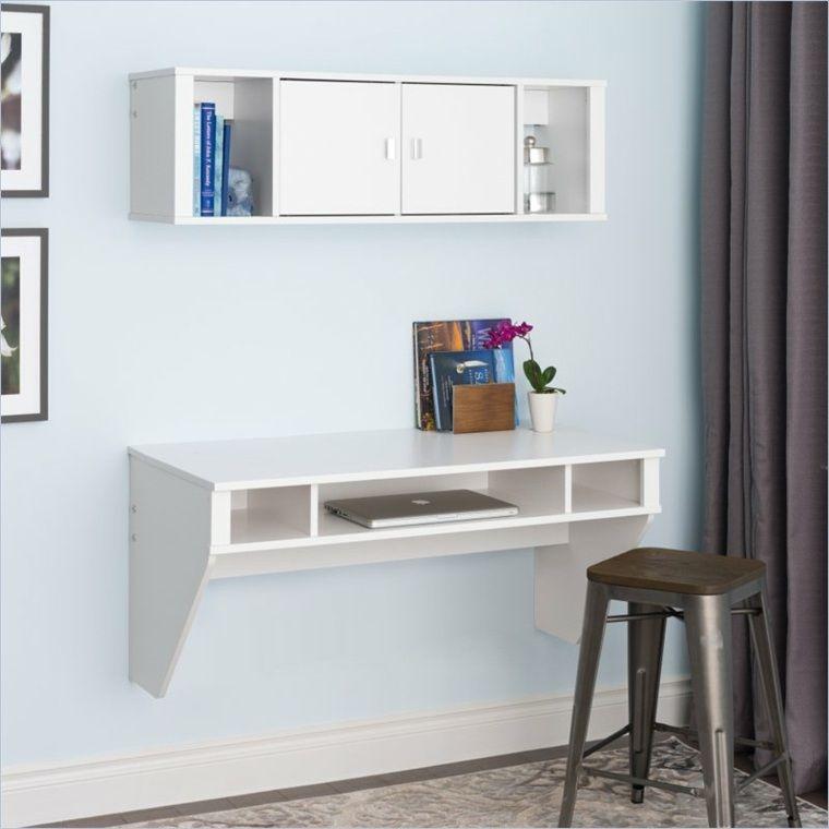bureau suspendu de beaux exemples de petits meubles pratiques bureau suspendu petit meuble. Black Bedroom Furniture Sets. Home Design Ideas
