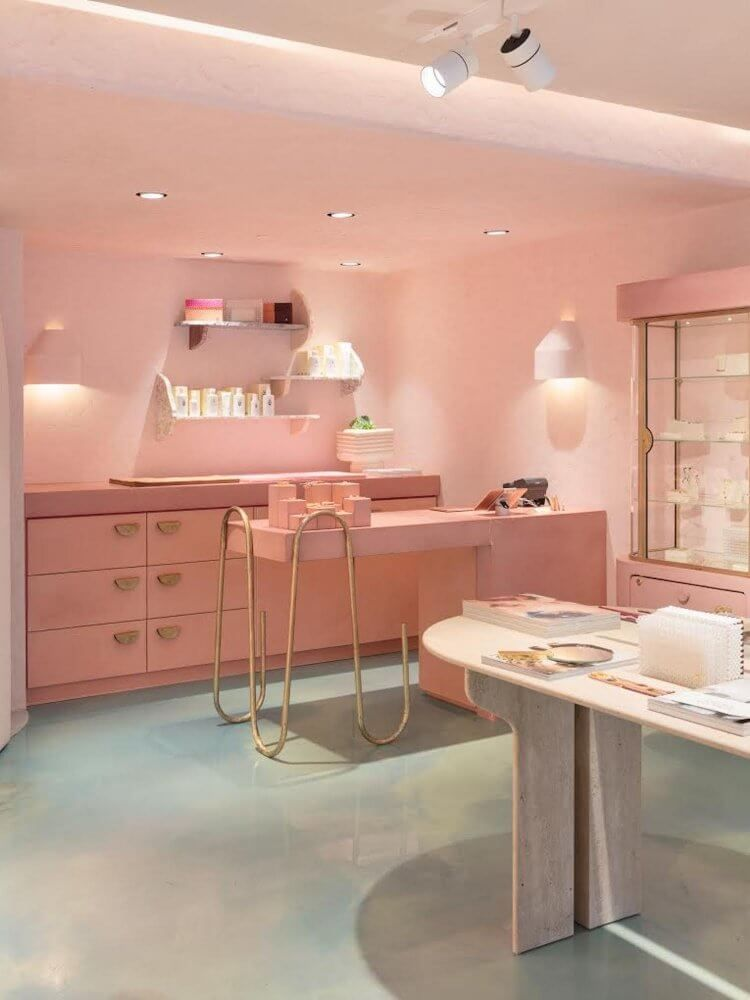 Tamsin Johnson Designer Listing Australian Designer Est Living Store Design Interior Salon Interior Design Store Interiors