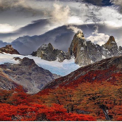 Mount Fitz, El Chalten, Argentina 🏆🏆 Photography by @markhandyphotography  #natureofexistence