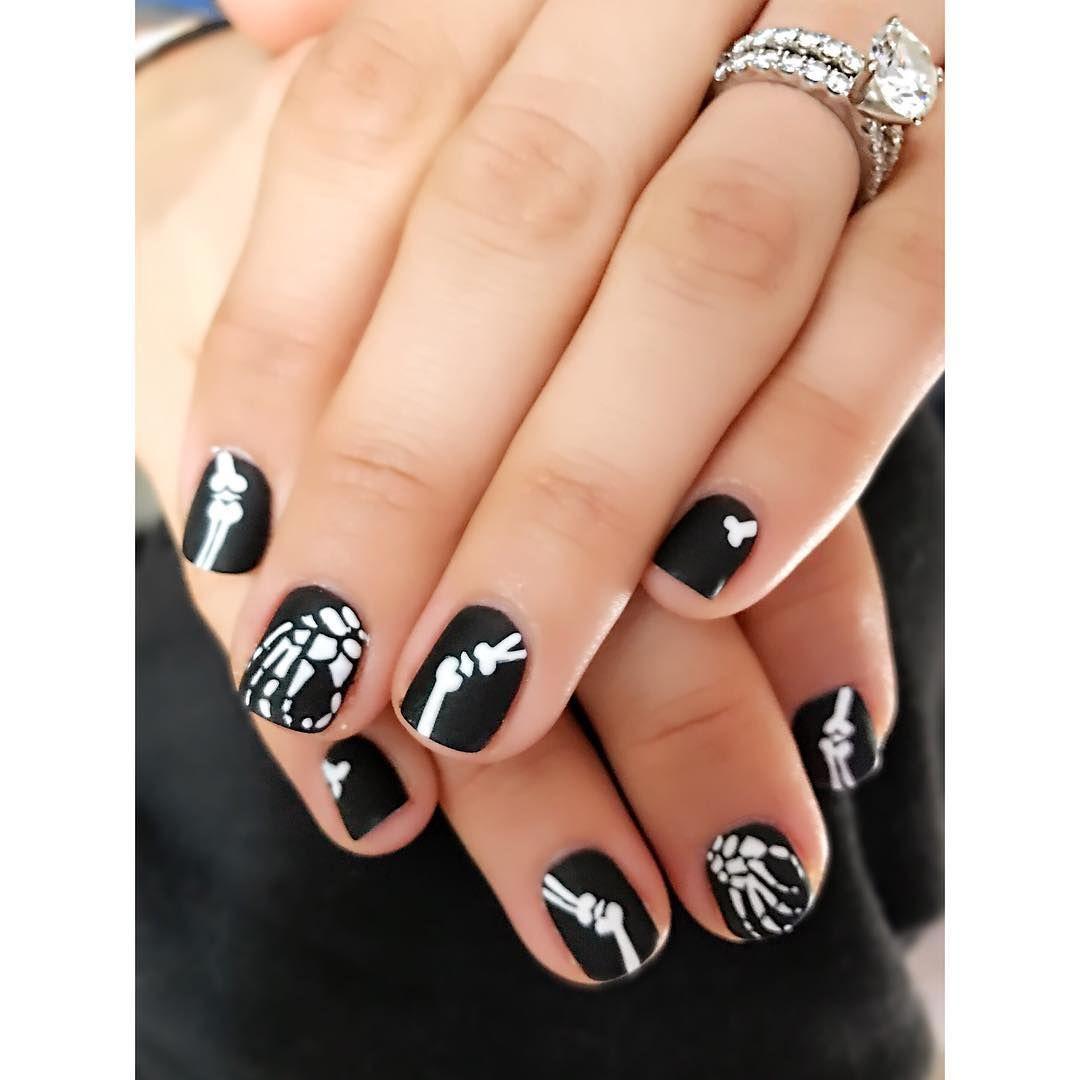 65 Amazing + Creative Halloween Nail Art Designs | Art nails, Nail ...