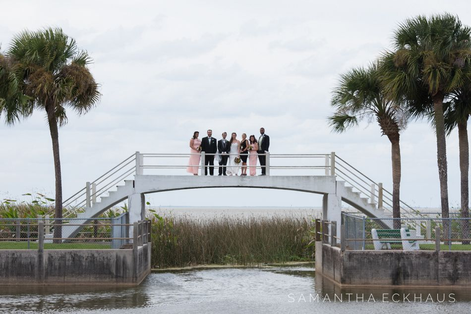 Sara And Chris Tanner Hall Wedding In Winter Garden Was The Perfect Way To Tie Knot Their Story First Began During A Local Meet Up At Wall Street