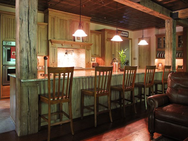 Cypress Kitchen traditional kitchen new orleans by Jackson