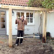 Bouw zelf een schommel eigen huis tuin schommel pinterest bouw tuin en zaterdagavond - Eigentijds pergola design ...