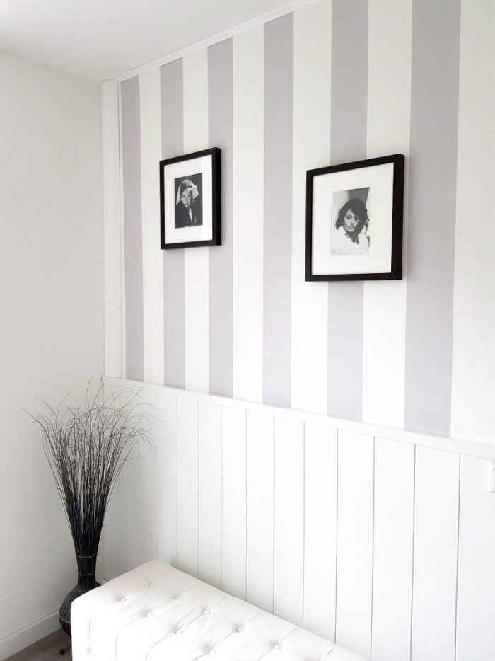Photo of Country house style: remodel the wall with panels and photo wallpaper – Pretty You