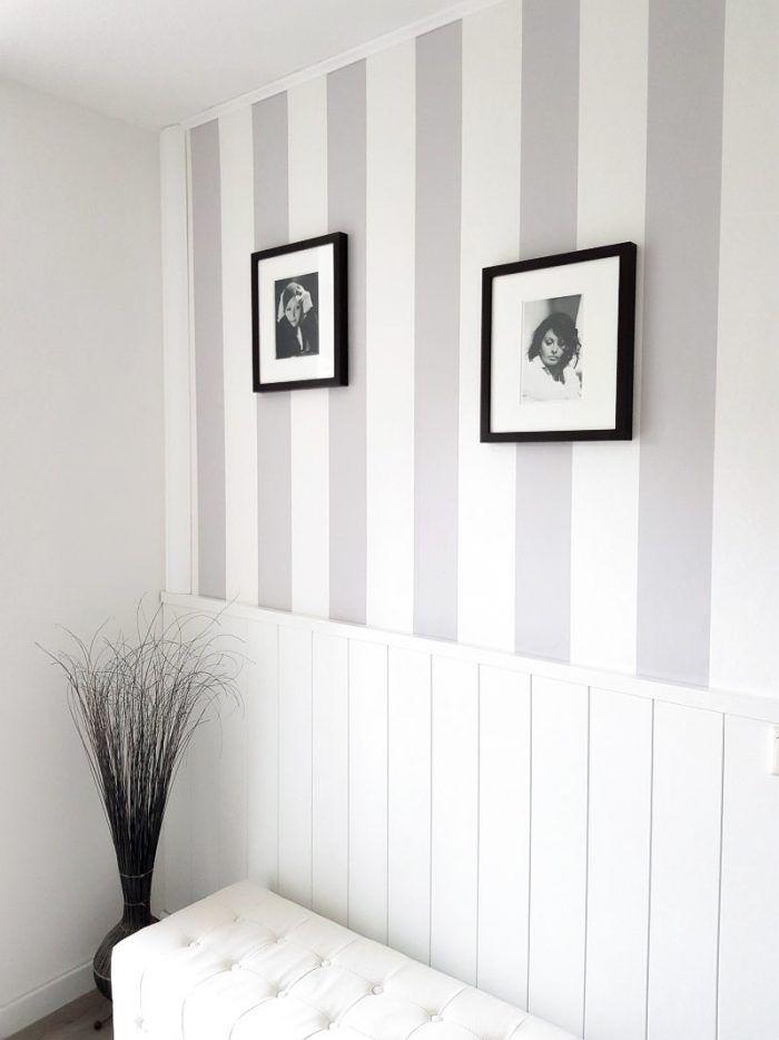 Photo of Landhausstil: Wand umgestalten mit Paneelen und Fototapete – Pretty You