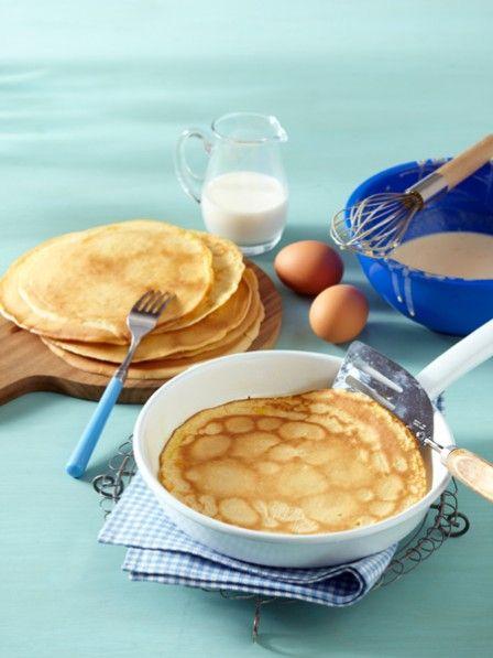 Pfannkuchen Grundrezept - wie von Oma! #rührteiggrundrezept
