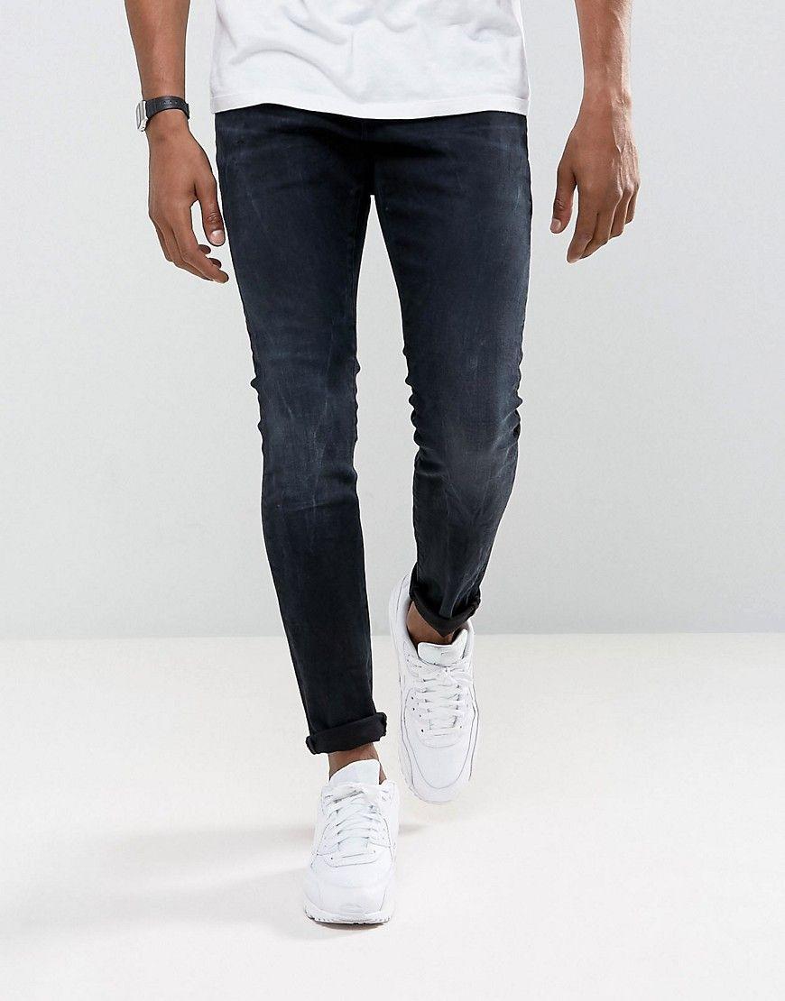 G Star Revend Super Slim Jeans Rink Denim Dk Aged Navy Slim Jeans White Jeans Men Raw Denim Jeans