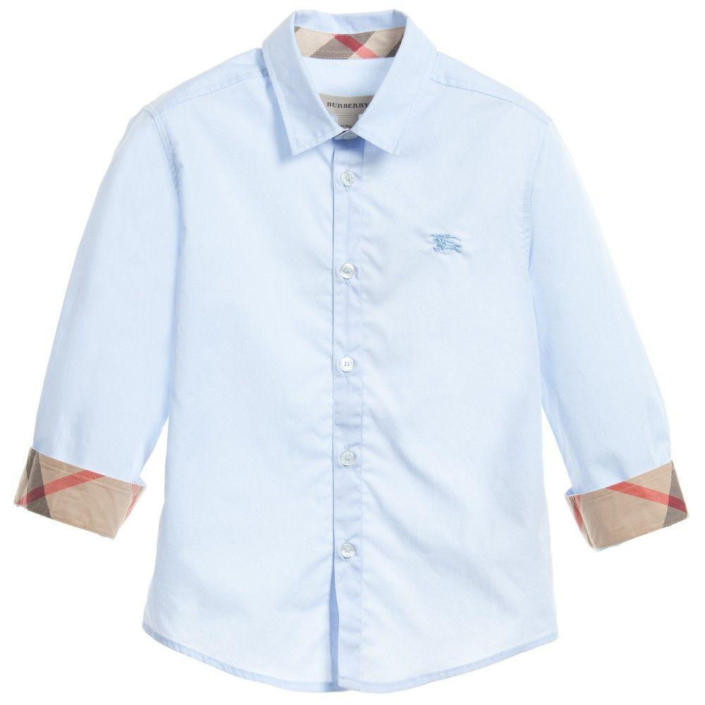 Boys Burberry Shirt