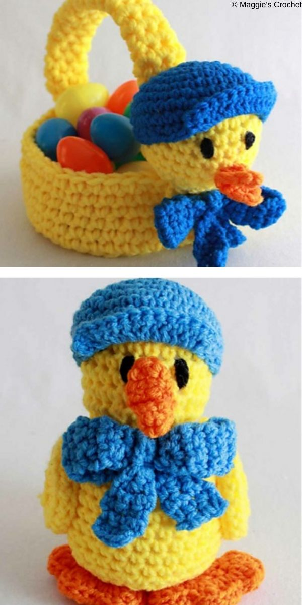Easter Baskets and Toys Crochet Pattern