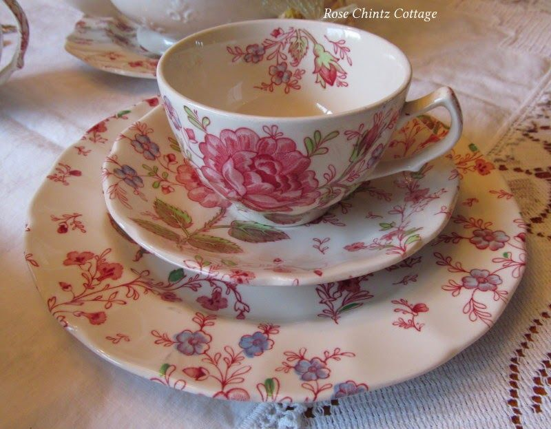 Rose Chintz Cottage. Life is like a teacup to be filled to the brim and enjoyed with friends. ~ Unknown