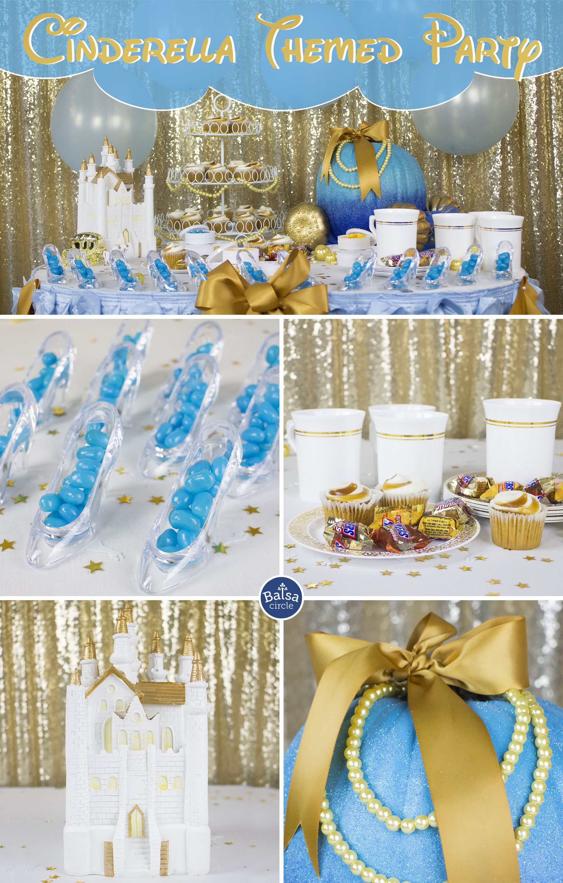 Cinderella Themed Baby Shower Topsimages
