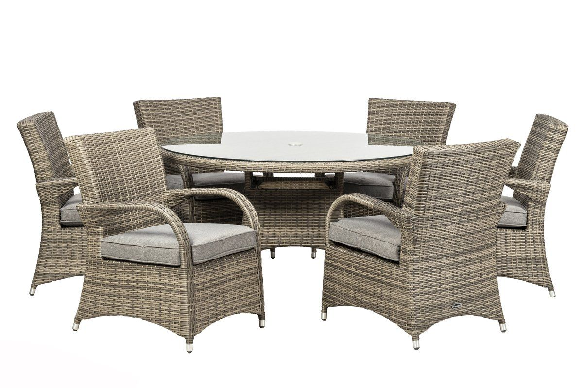 Royal Garden Classic 10 Seater Dining Set with Cushions & Reviews
