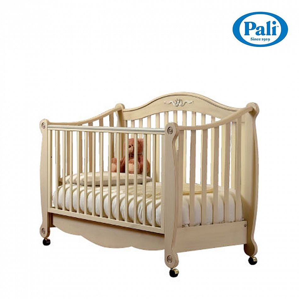 Luxury Antique Look Wooden Baby Nursery Cot Rigoletto By