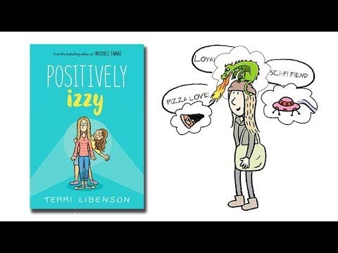 Meet the Characters | POSITIVELY IZZY | Book Trailers | Pinterest ...