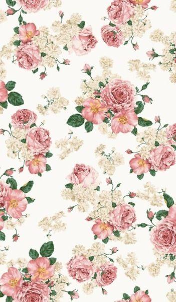 floral wallpaper tapetteja pinterest tapisserie. Black Bedroom Furniture Sets. Home Design Ideas