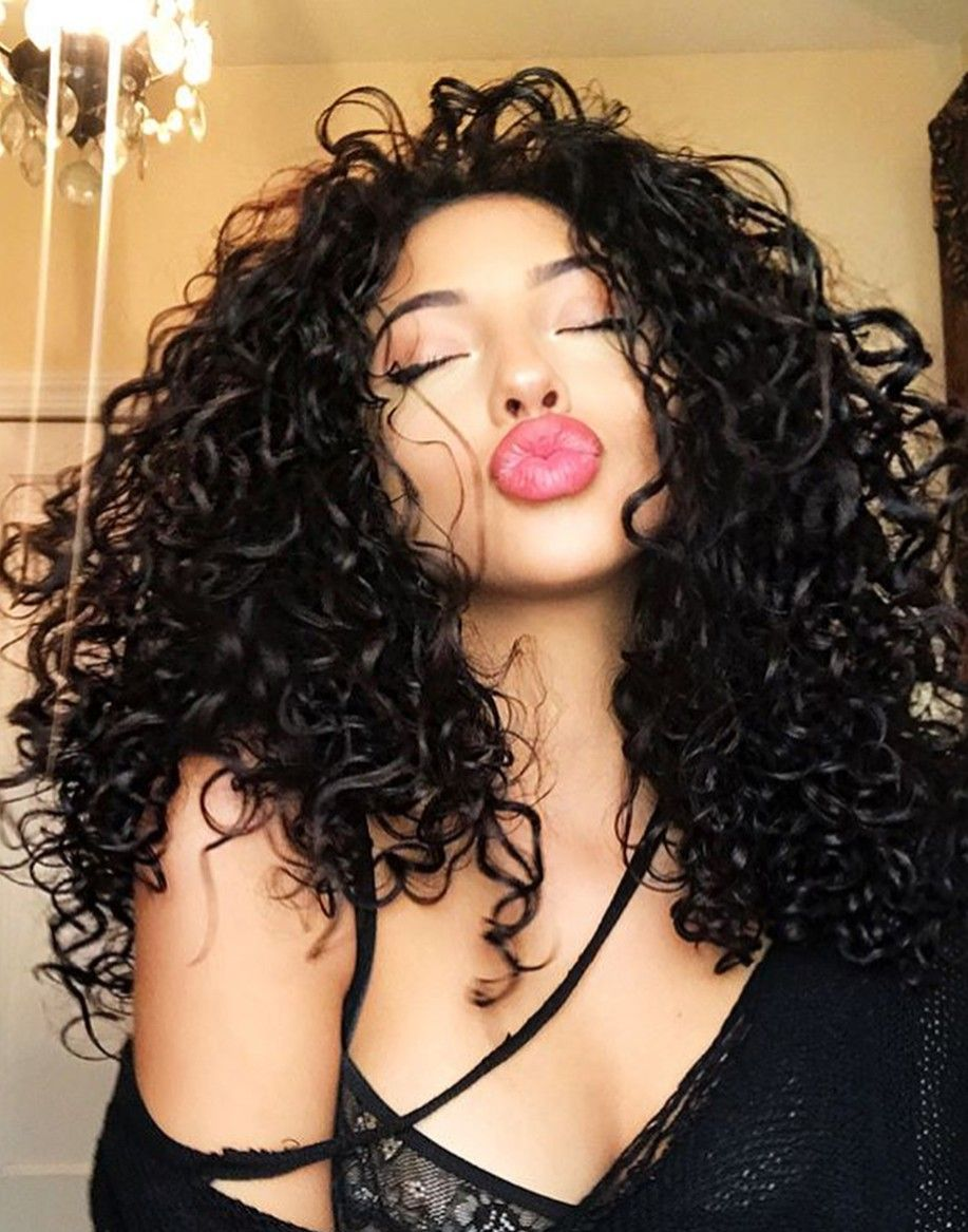 Pin by angelena kelley on hair envy pinterest curly makeup and