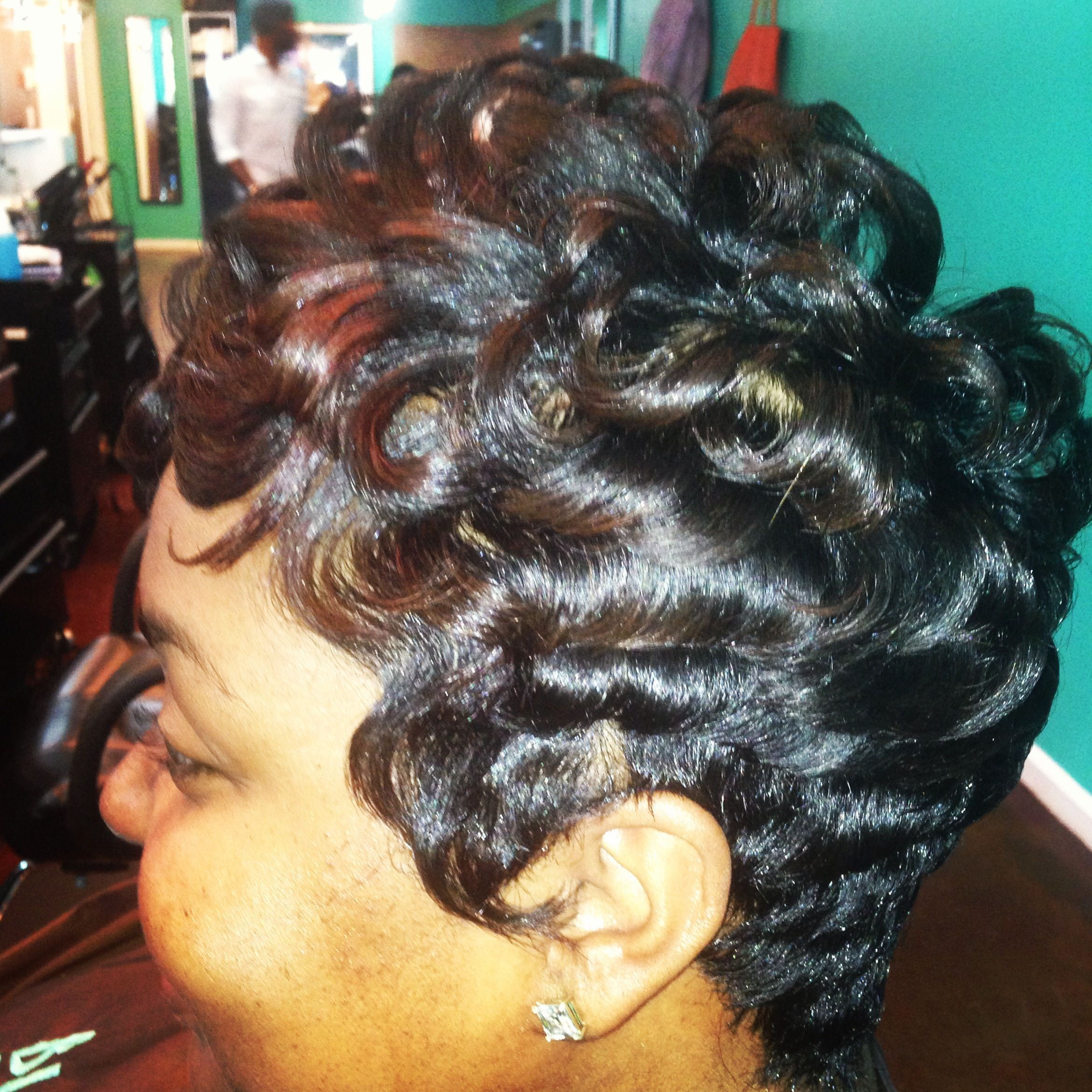 Hair by Paula Britt at Blendz Salon Atlanta