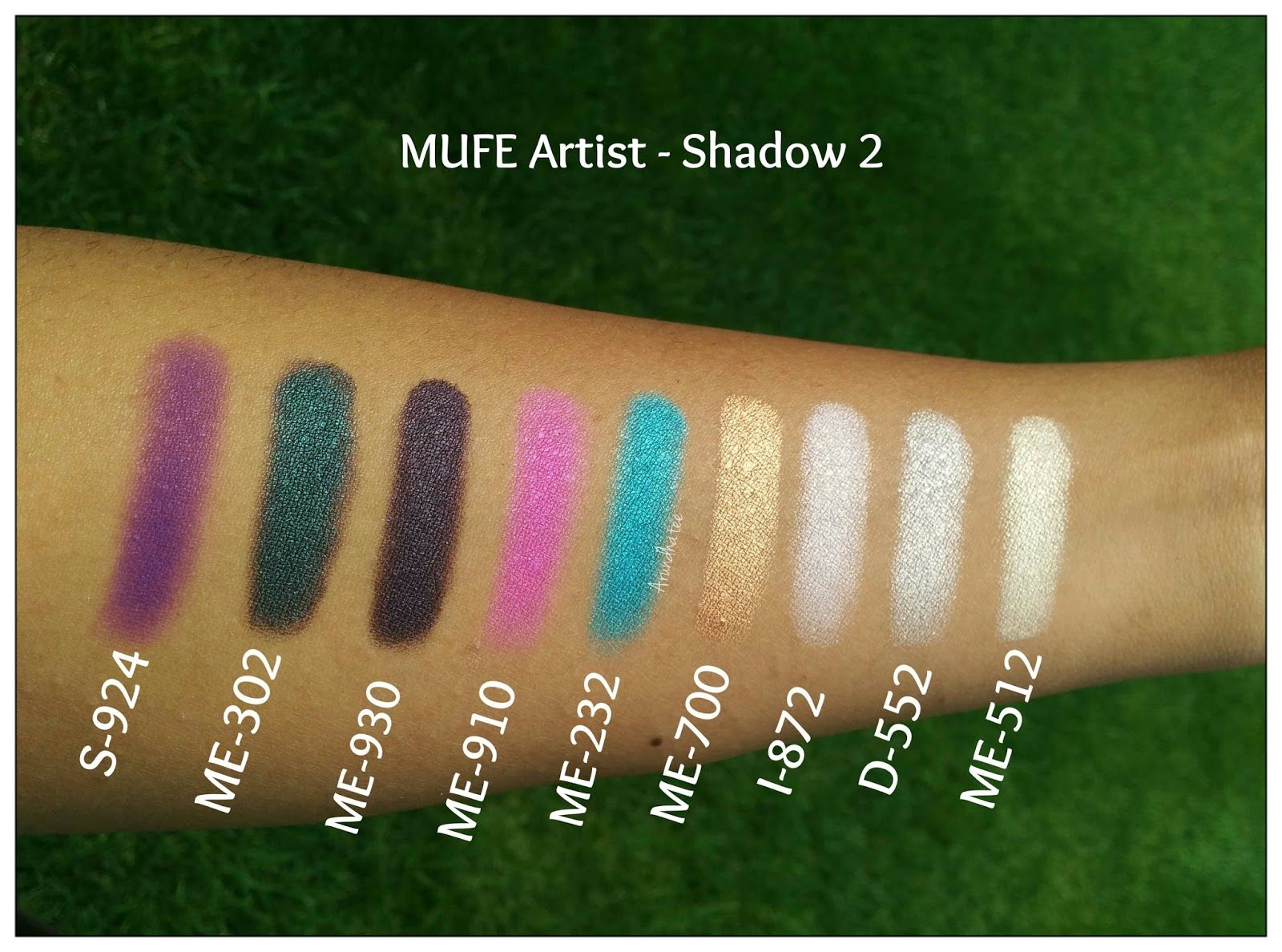 makeup forever artist palette 2 swatches Google Search