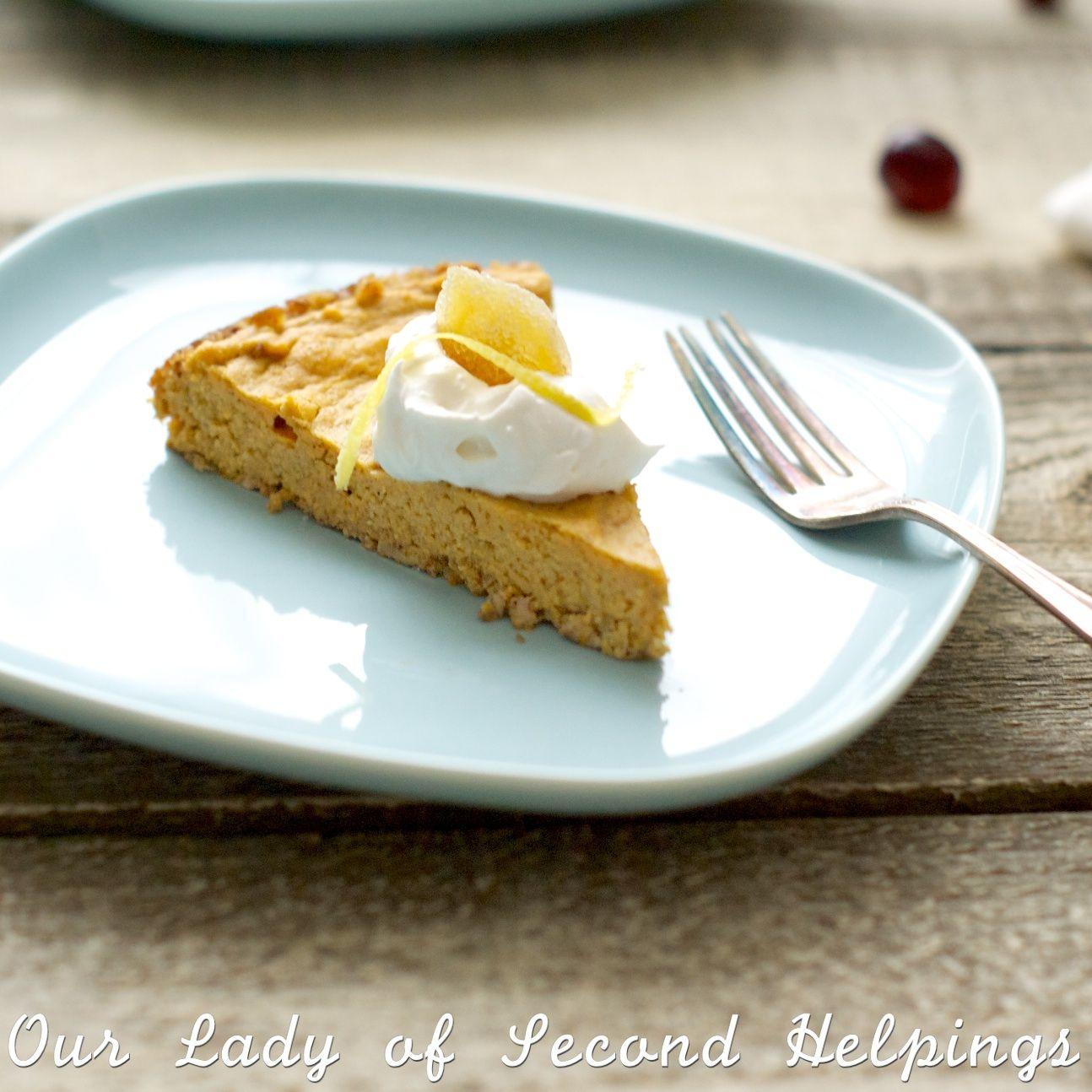 Best Ever Crust Less Pumpkin Pie Recipe Coconut Flour Recipes