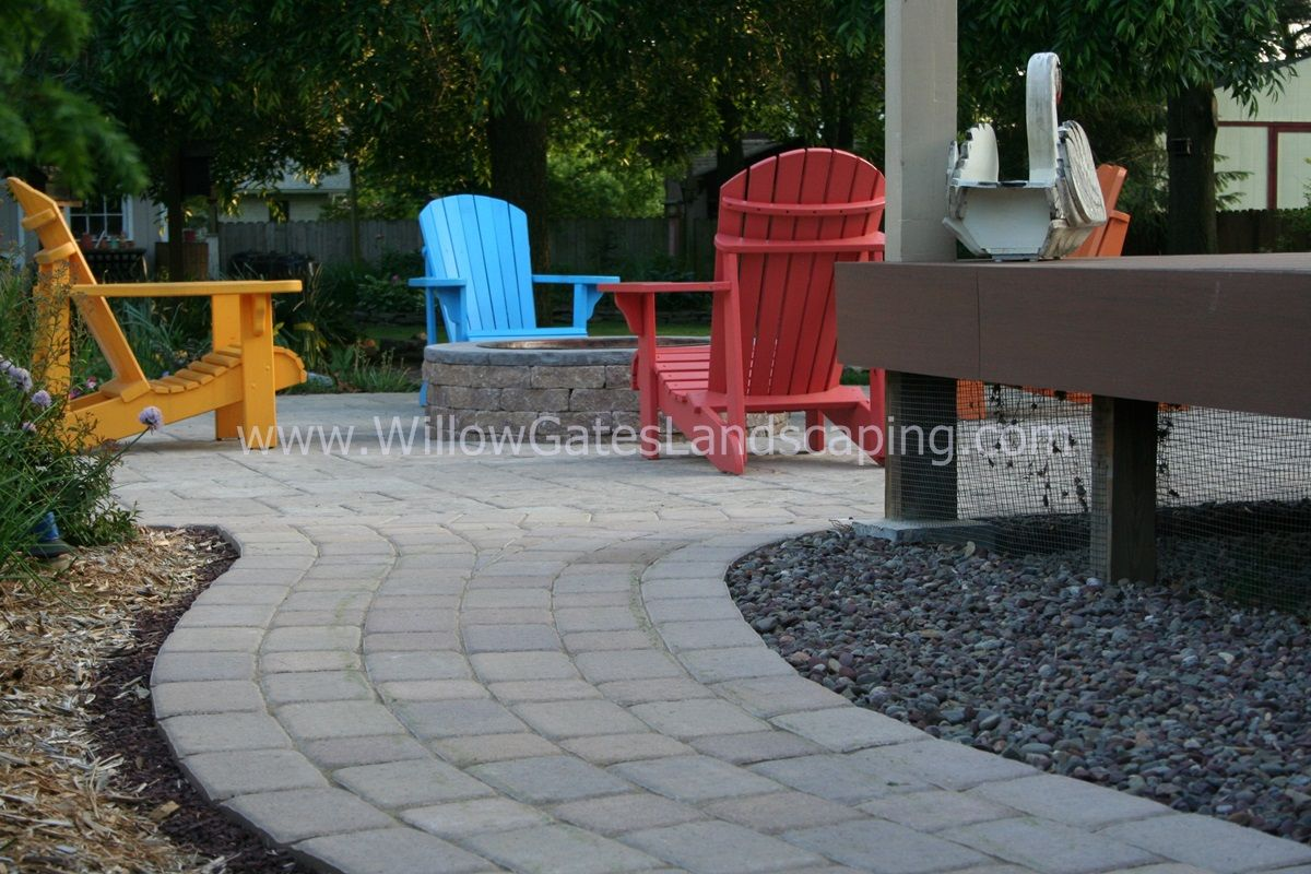 Great Taste In Chairs... And In Paver Patios! Techo Bloc Parisien