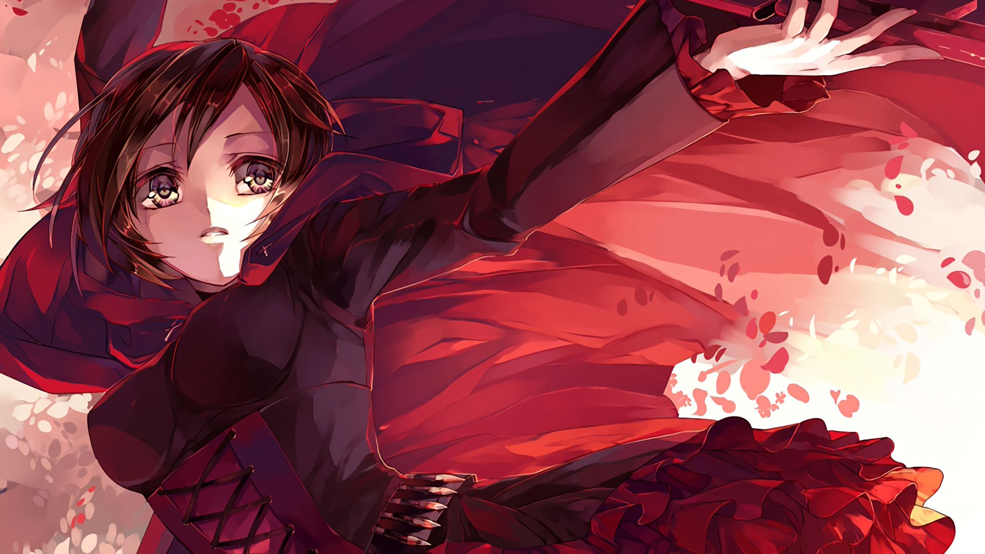 Anime Rwby Ruby Rose Wallpaper Rwby Rwby Wallpaper Anime