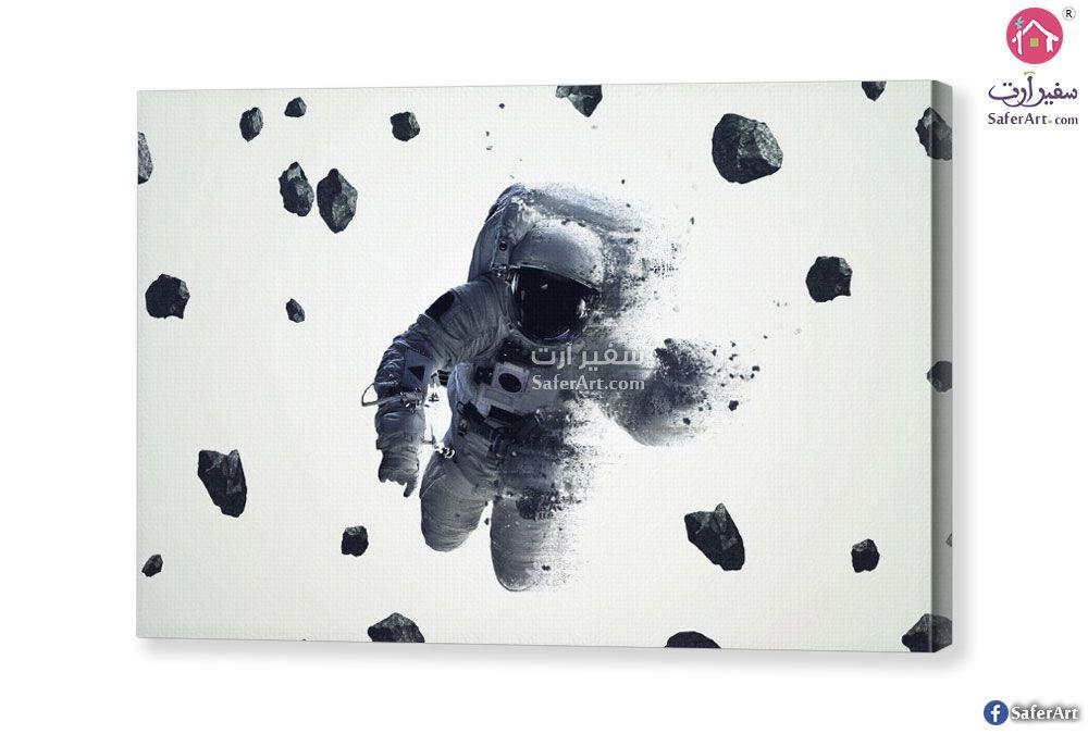 تابلوه رائد الفضاء سفير ارت للديكور Moon Art Art Batman