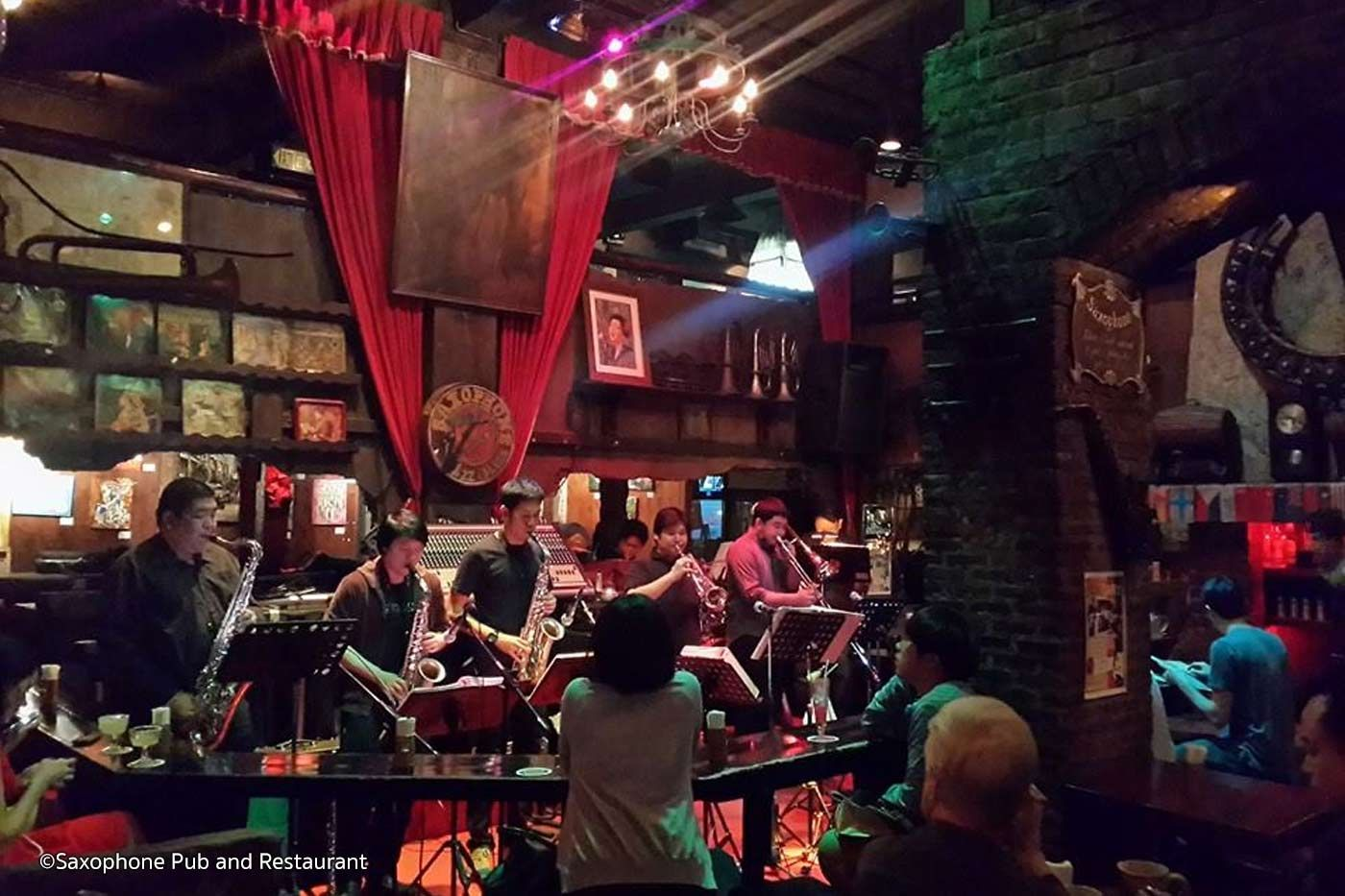 Saxophone Bar Is A Blues And Jazz Bar In Bangkok Featuring