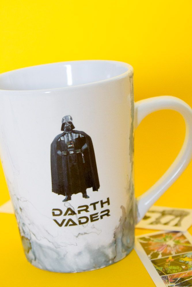Photo of Temporary Tattoo DIY Star Wars Mug – Do It Your Freaking Self