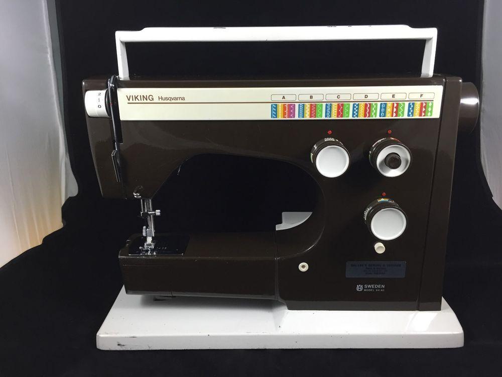 Husqvarna Viking 40 Sewing Machine Parts Replacement AS IS Enchanting Viking 6440 Sewing Machine