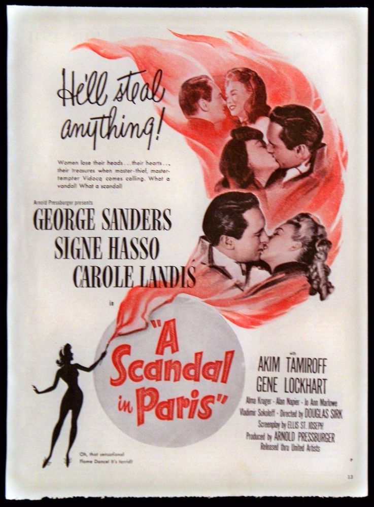 Download A Scandal in Paris Full-Movie Free