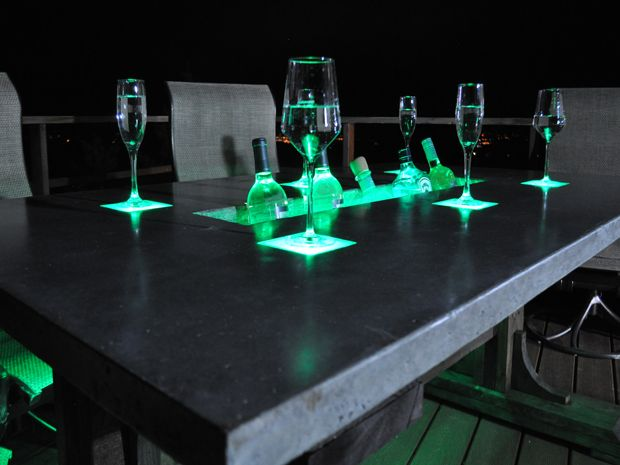 For The Extreme Maker, Hereu0027s How To Build A Countertop With Built In LEDs  And