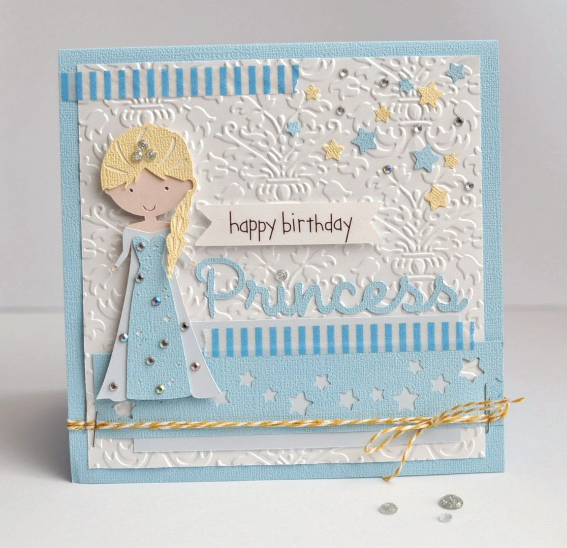 Happy Birthday Princess Card Queen Company Scrapbookcom - Childrens birthday cards for the queen