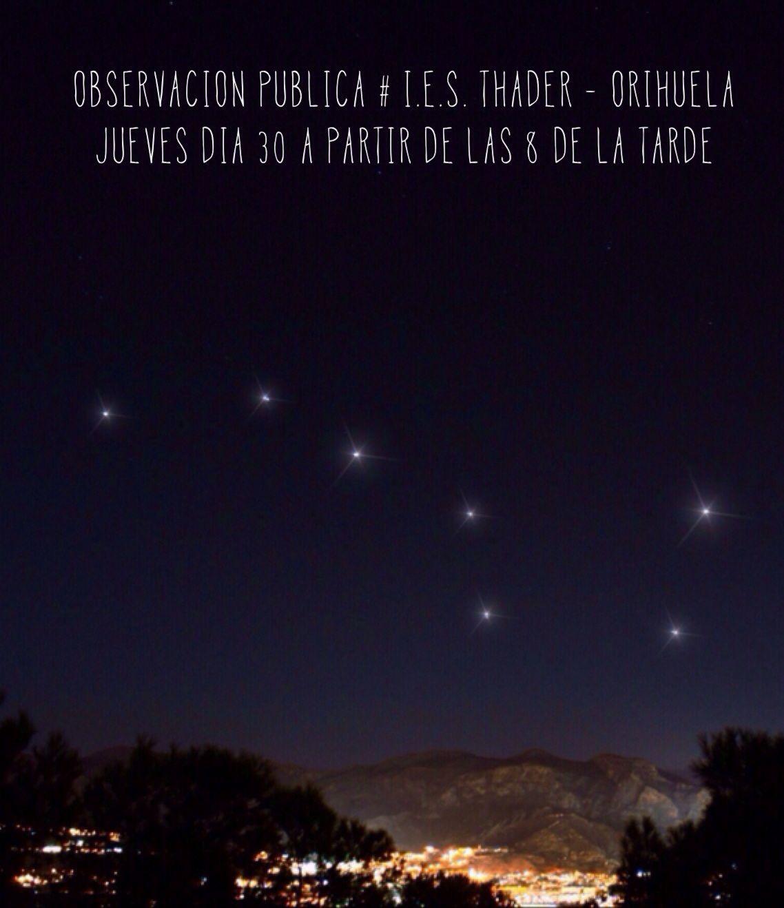 Observación en Orihuela |  30 ene 2014