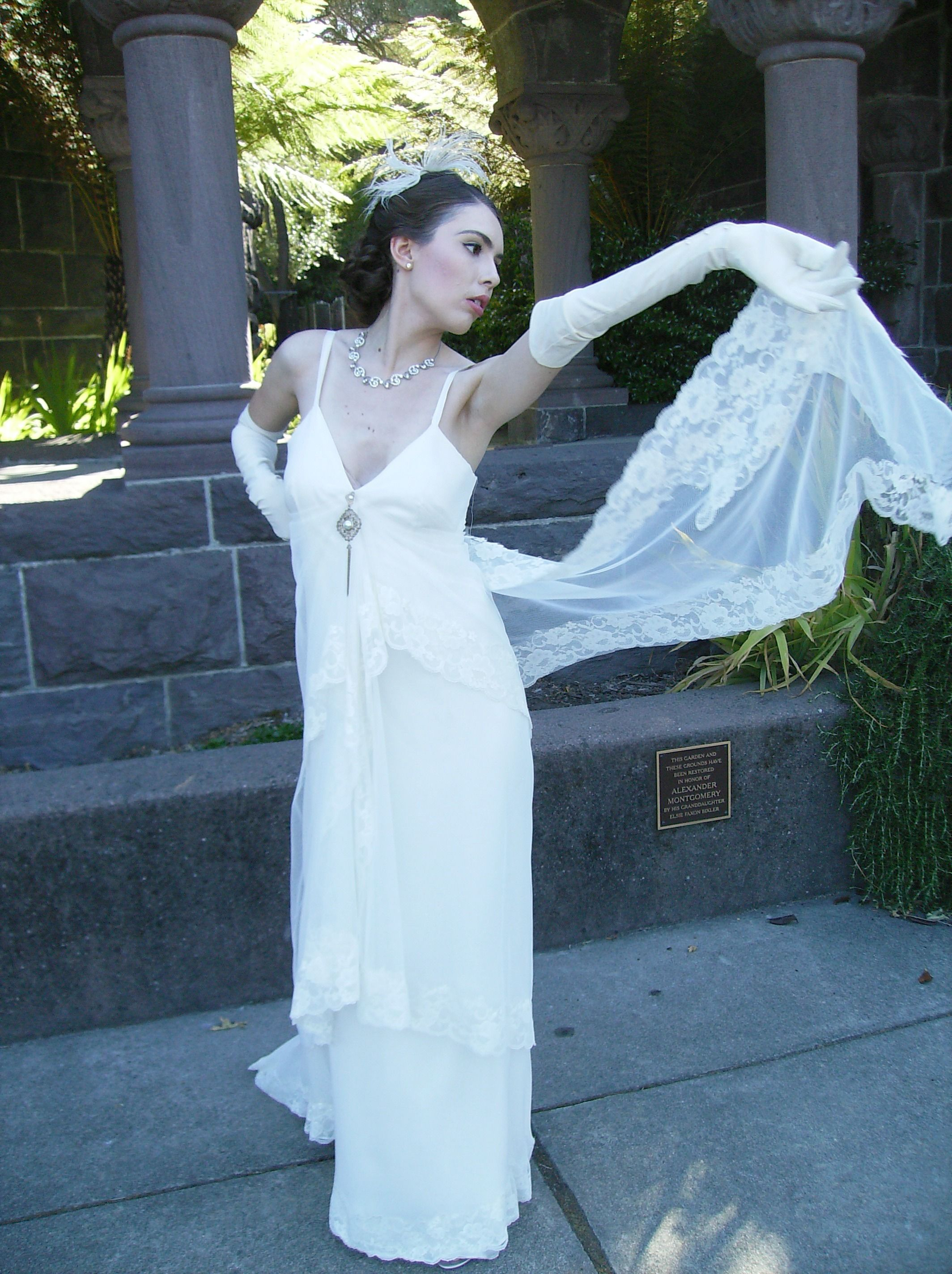 The Gemma Gown from The Gatsby's Bride Collection by Amy-Jo Tatum