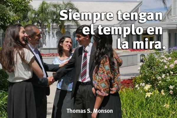 """""""Siempre tengan el templo en la mira..."""" #MiFamiliaenelTemplo"""