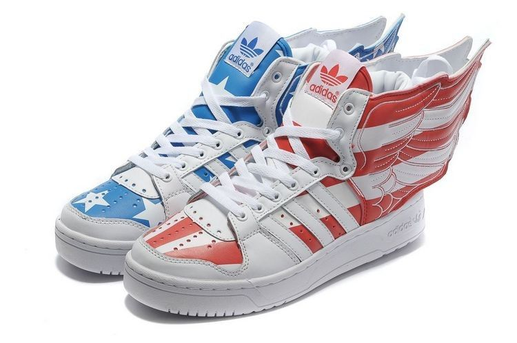 Women adidas Originals Jeremy Scott Wings 2.0 US Air Flag
