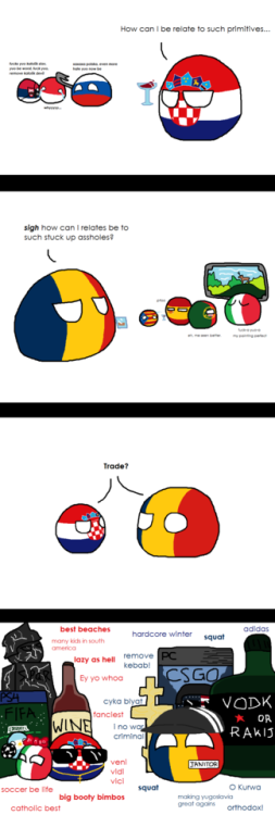 omg! Black Sheep of the Families via reddit | Countryballs 2