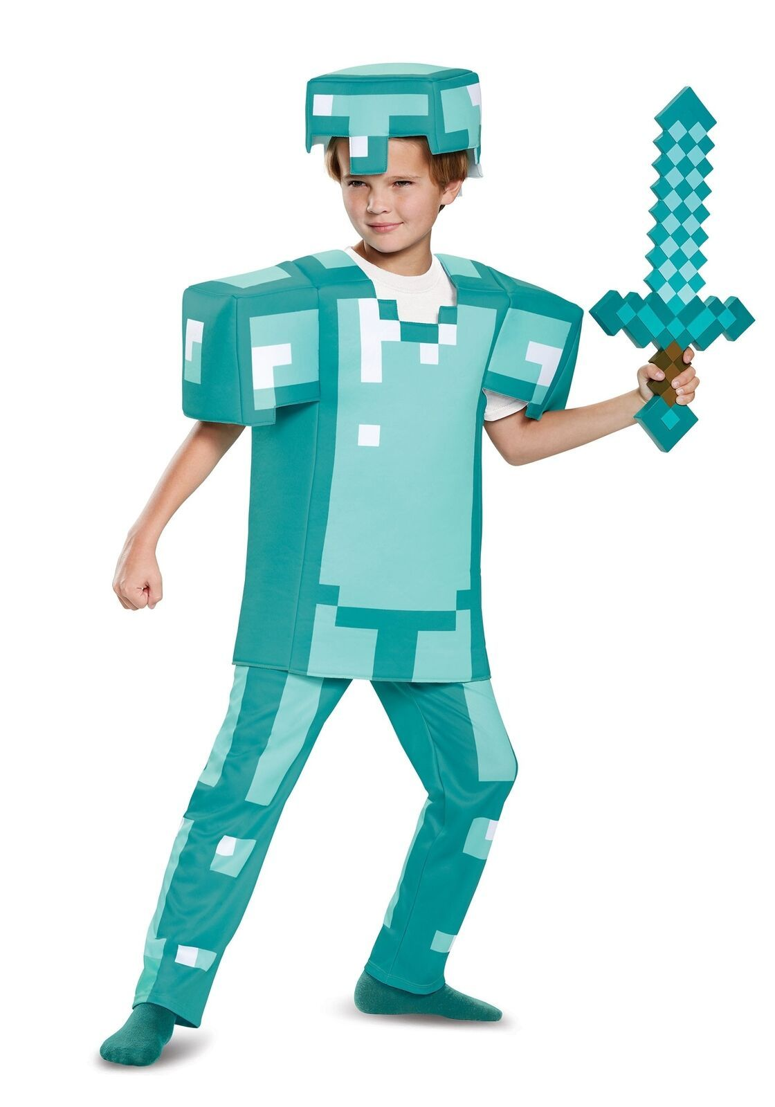 Minecraft Halloween Costumes For Kids 2020 Boys Minecraft diamond armor costume in 2020 | Minecraft costumes