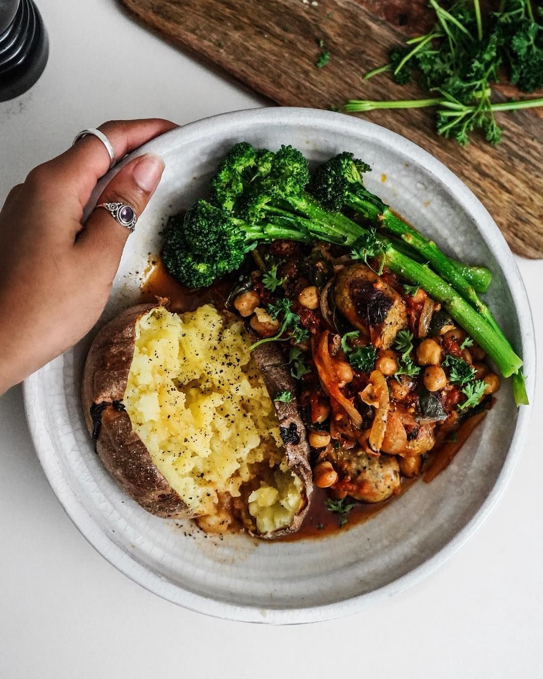 Rachel Ama On Instagram Plant Based Sausage Casserole With