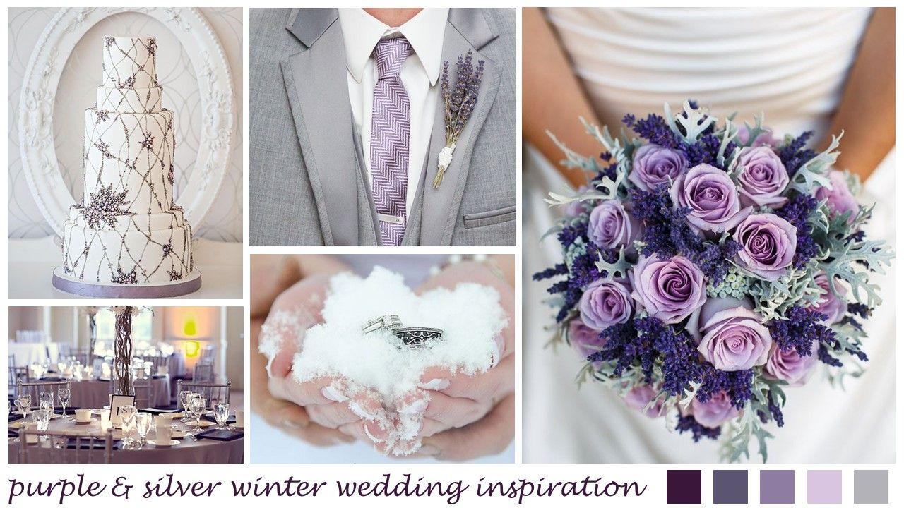 Dresses for a winter wedding reception  purple silver wedding  Google Search  Wedding Ideas  Pinterest