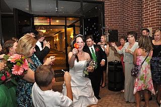 Wedding Photography - Bubbles & Water guns