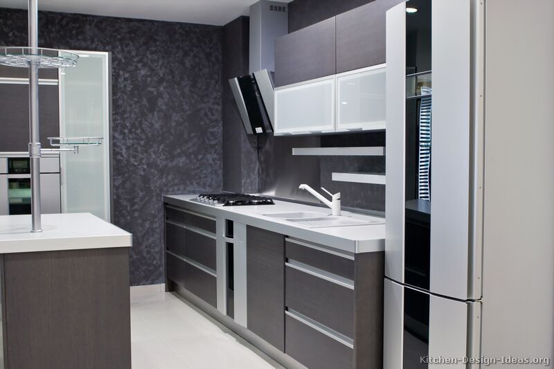 Contemporary Gray Kitchen Cabinets modern gray kitchen cabinets #08 (alno, kitchen-design-ideas