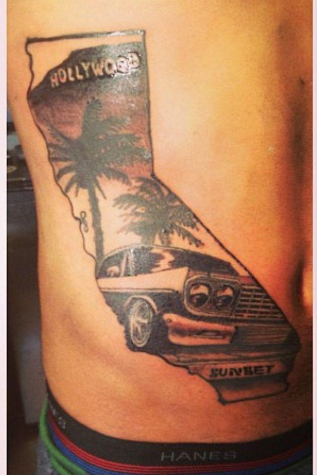 c32d996a5206a Hollywood and a classic car. Perfect classic California | California ...