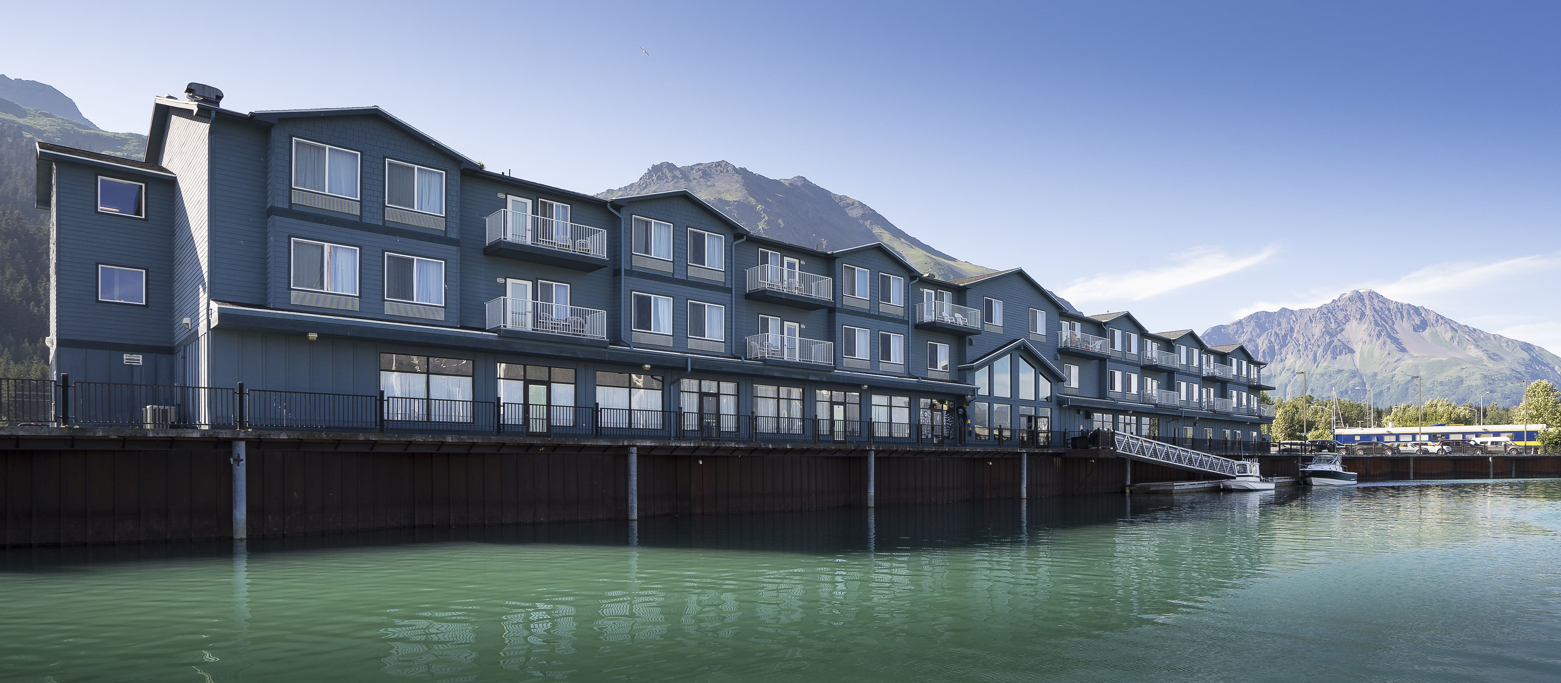 Harbor 360 Hotel is the premier waterfront hotel in Seward
