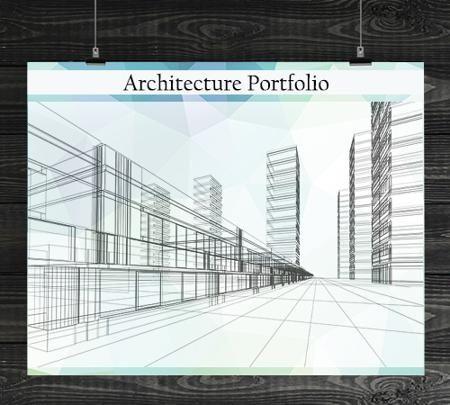11 fabulous ideas to make a professional portfolio cover for Architectural portfolio ideas