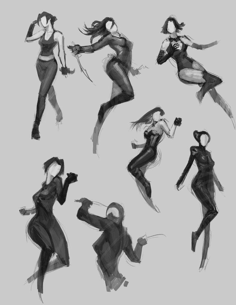 Fast Pose Sketch by bmd247 deviantart com on @DeviantArt | female